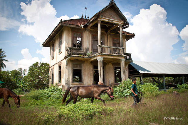 Old Monks Home stables, Koh Duch, Cambodia